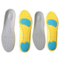 Soft Gel Foam Cushioning Arch Support Sport Shock Absorption Insoles Shoe Pads