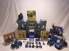 DC Imaginext Batman VS Superman HUGE LOT Batcave  Krypton 17 figures 5 vehicles