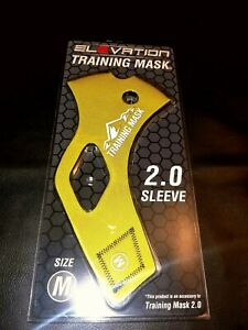 Brand New M Gold Elevation Training Mask 2.0 - Sleeve Only - w/tags.