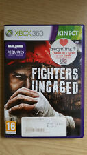 Fighters Uncaged - Kinect Game -  Xbox 360 - Complete