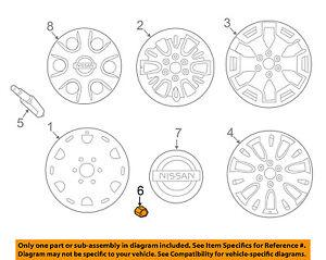 Infiniti NISSAN OEM 11-13 QX56 Wheel-Lug Nut 402241LA2B