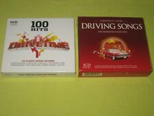 100 Hits Drivetime & Greatest Ever Driving Songs – 2 Albums 8 CDs Quo Stone Rose