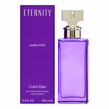 Eternity Purple Orchid Calvin Klein 3.4oz/100ml Edp Spray For Women New In Box