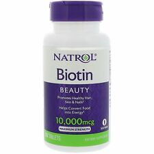 Natrol Biotin 10mg, 100 Vegetarian Tablets