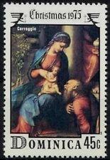 Commonwealth of DOMINICA - 1975 - Christmas Art Painting - Coreggio - MNH  #452