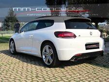 Heck parachoques para VW Scirocco 13 r line parachoques trasero delantal rear bumper ABS
