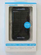 Lenmar SolVive Slim SOLV15 Battery Charger,LED Flashlight