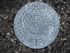 MAYA AZTEKEN Wandkalender aus massiven Steinguss  Frostfest Wetterfest Garten