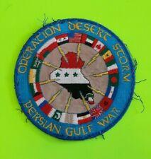 Operation Desert Storm - Persian Gulf War Patch 1990-91