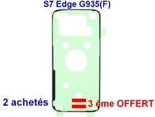 Pour Samsung Galaxy S7 Edge SM-G935(F) Adhésif Sticker Autocollant Vitre Arrière