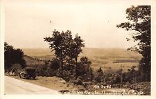 Table Rock Maryland~Route 50~1920s Car~Scary Rest Rooms Roadside Sign~1930 RPPC
