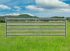 Heavy Duty Sheep/Goat Yard Panels 2.9m x 1m Oval Rails. Delivery Available. PIG