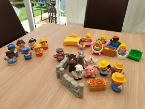 Fisher price little tikes farmyard and people bundle