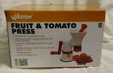 Weston Fruit & Tomato Press Sauce Maker Food Press 67-1101-W