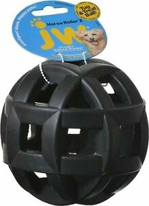 JW Pet Hol-ee Roller X Dog Chew Toy for Aggressive Chewers 5 inch (Pack o... New