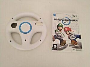 Wii Mariokart & Steering Wheel Bundle - Lot 5