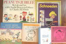 Peanuts, Snoopy Set of 6 Books Peanuts Jubilee, Schroeder, Happiness Books