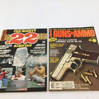 2 VTG Guns and Ammo Magazine 1976 The Mighty .22 Rimfire & April 1980 S & W M-59