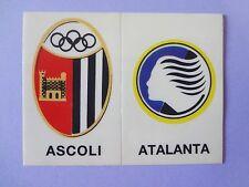 FIGURINA PANINI CALCIATORI SCUDETTO STICK STACK ASCOLI-ATALANTA 1988-89 NEW- FIO
