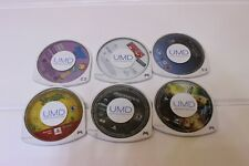 Lot Of 6 Umd Games And Movies For Psp