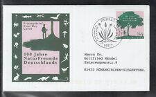 LA 267 )  beautiful FDC Germany 2005 - 100 years of nature friends of Germany