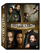 Sleepy Hollow: Complete Tom Mison TV Series Seasons 1 2 3 4 Boxed DVD Set NEW!
