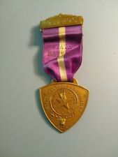 BPOE Elks 1913 5th Annual Convention Wheeling West Virginia  Ribbon Pin Badge