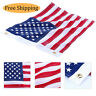 """12x18"""" Yacht Boat Ensign Nautical American Flag W/ Sewn Stripes Embroidered Star"""