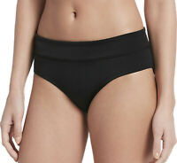 NIKE Women's Hipster Bikini Bottoms sz XL X-Large Black Swimwear Swim