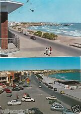 # S. FOCA: 2 CARTOLINE - LUNGOMARE E PANORAMA - anni '70