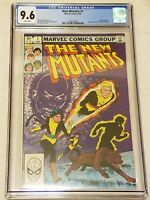 New Mutants #1 CGC 9.6 NM+ 1st Print Marvel 1983 White Pages