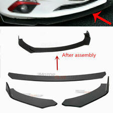 Black Front Bumper Lip Chin Spoiler Wing Body Kit For Ford Mustang GT 1999-2019