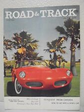 July 1957 Road And Track (Conquest From Canada)