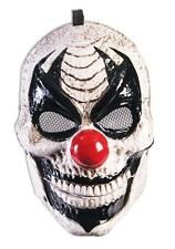 Moving Jaw Clown Plastic Mask Scary Fancy Dress Halloween Costume Accessory