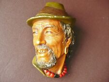 Bossons Tibetan  Wall Plaque  1959 - Vintage Bossons Heads