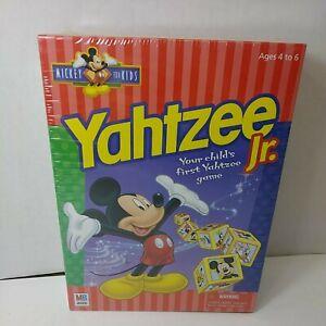NEW Vintage 1998 Mickey Mouse Yahtzee Jr Milton Bradley Disney Game