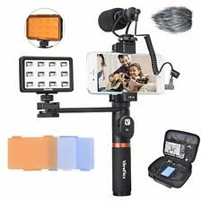 Phone Video Kit VF-H6 Smartphone Video Rig with Recording Microphone
