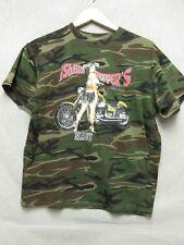 V5056 Anvil Island Chopper's Camouflage Short Sleeve T-shirt Women's M
