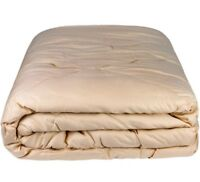 100% Camel Wool Comforter. All Season Cozy Blanket US sizes. Not Itchy