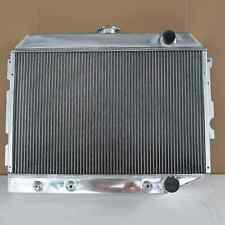 Aluminum Radiator For Plymouth Gtx Dodge Challenger Charger At/Mt 3rows 1643B