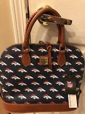 Denver Broncos Dooney & Bourke Team Color Zip Zip Satchel