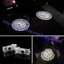 Car Led light Door Laser Projector Logo Emblem Kit For Mercedes CLS CLA C207 AMG