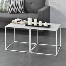 Quadratische Moderne Beistelltische In Aktuellem Design Für Die