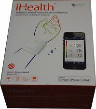 iHealth BP7 Wireless Blood Pressure Wrist Monitor Apple Android NEW SEALED