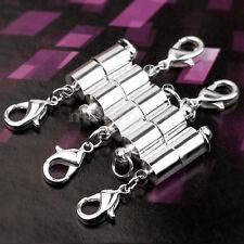 5 Terminale Chiusura Magnetica Argento 6mm Bigiotteria Bracciale Collane Hobby