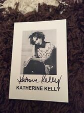 KATHERINE KELLY (CORONATION STREET) SIGNED PUBLICITY CARD
