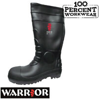 Heavy Duty Pro Farmers Builders Trade Work Safety Wellington Boots Wellies Steel