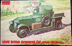 1/72 WW2 Vehicle  Rolls Royce Armoured Car Pattern 1920 Mk D [UK] #731 : RODEN