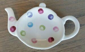 Cooksmart Spotty Dotty Tea Bag Tidy tea pot