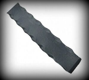 Flachstahl gehämmerten Kanten Länge 2000 mm vers.Große Bandstahl Eisen